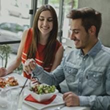 jantar com a namorada